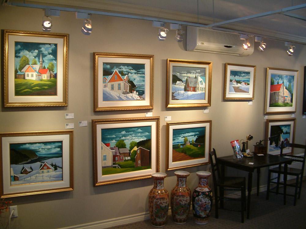 Daniel brunet artiste peintre charlevoix quebec canada for Galerie du meuble quebec